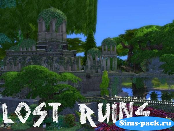 Участок Lost Ruins от Swon`s and Shark`S privat page для Симс 4