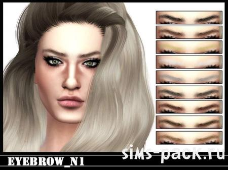 Брови Eyebrows N1 для симс 4