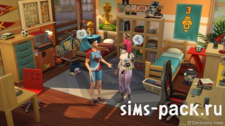 The Sims 4 В университете